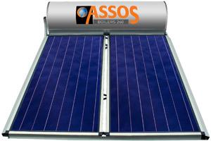 ηλιακος θερμοσιφωνας ASSOS 260 λιτρα